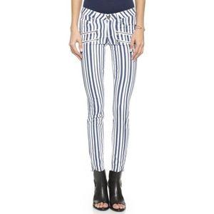 Paige Edgemont Super Skinny Jeans, Cyprus Stripes